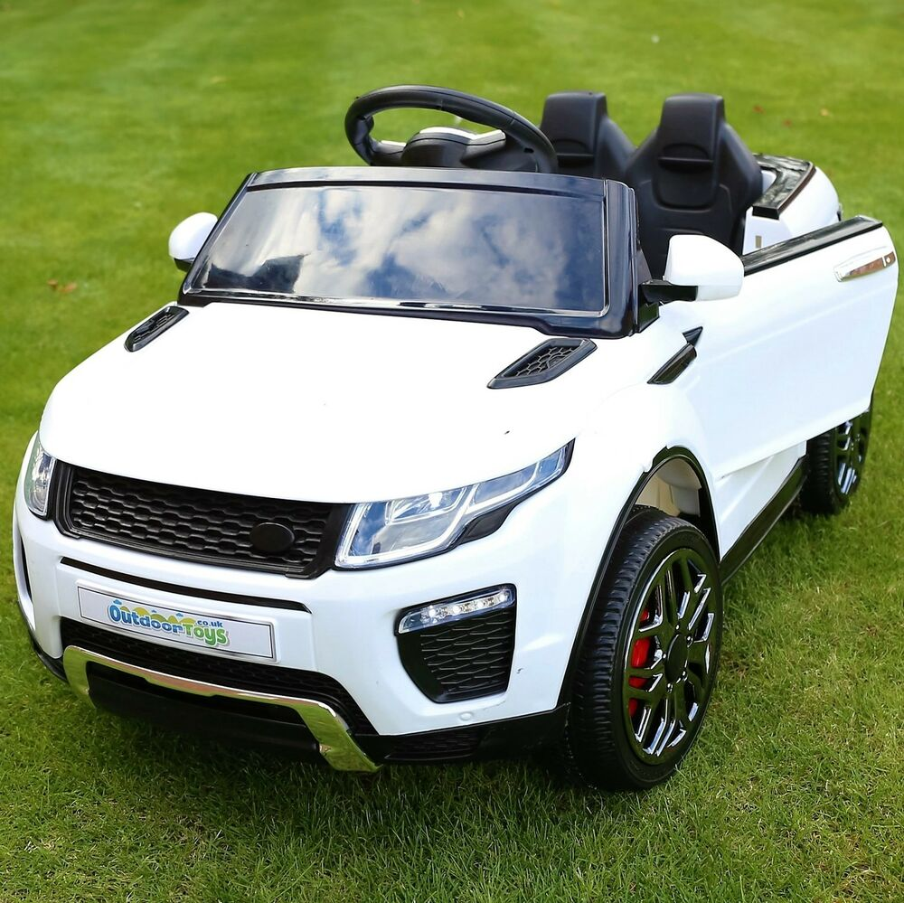 Range Rover Evoque Style 12v Child's Electric Ride On Car