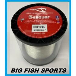 Kyпить SEAGUAR RED LABEL 100% FLUOROCARBON Fishing Line 1000 YARDS PICK YOUR SIZE!  на еВаy.соm