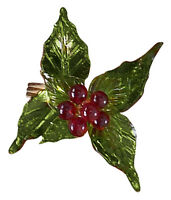 Holly Berry Napkin Rings by Park Designs, Choice of Set, Christmas Table Decor