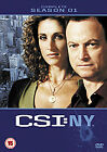 C.S.I. - Crime Scene Investigation - New York - Series 1 - Complete (DVD, 2012, 6-Disc Set)