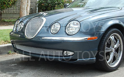 jaguar s type lower bumper wire mesh grille grill 2005. Black Bedroom Furniture Sets. Home Design Ideas