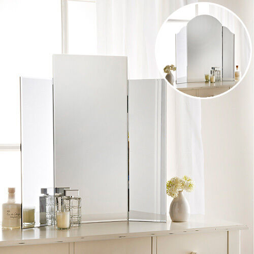 Modern 3 piece freestanding bedroom dressing table make up for Modern make up table