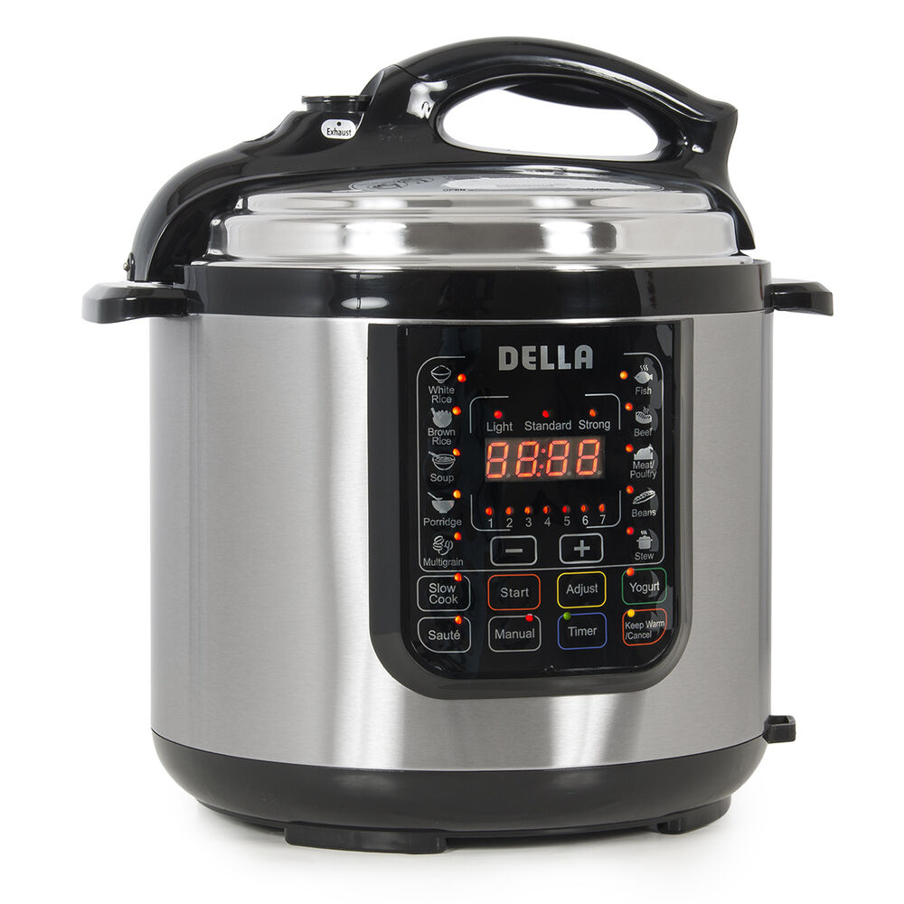 New Electric Pressure Cookers ~ Quart electric pressure cooker watt stainless steel