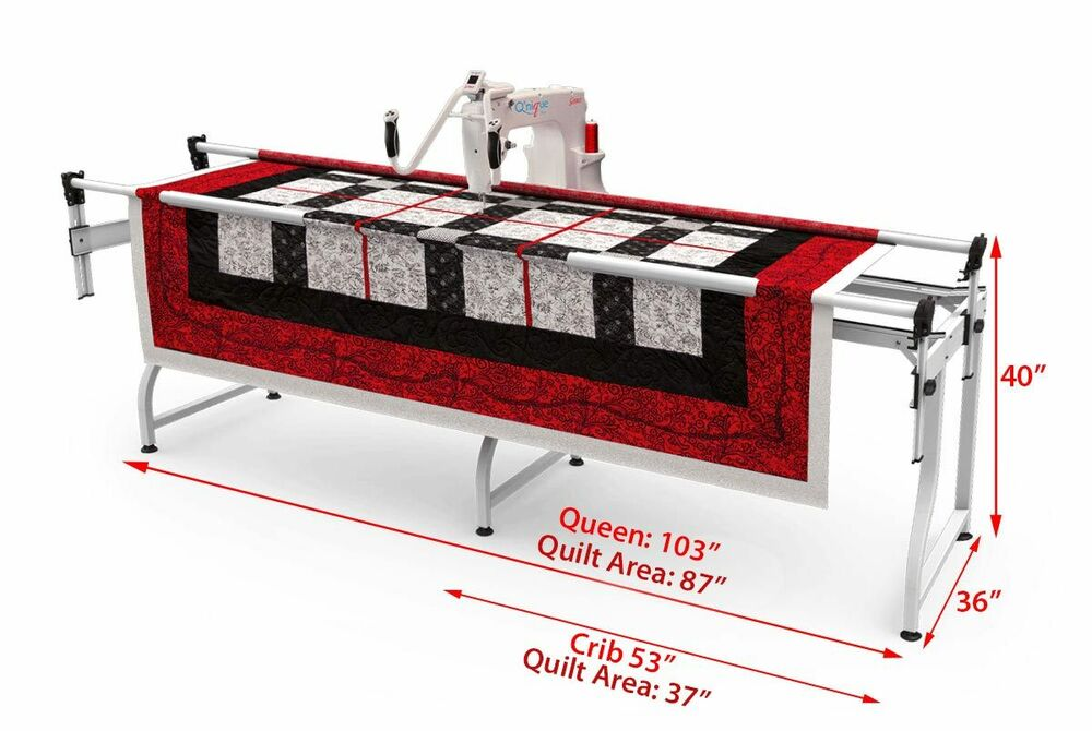 Grace Q Nique Long Arm Quilting Machine Display Demo Model