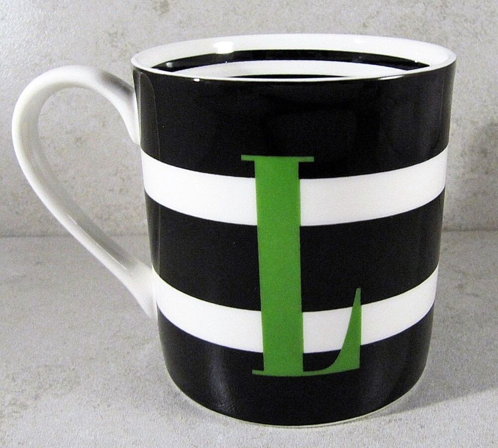 kate spade coffee mug lenox kate spade to the letter collection initial quot l 29391