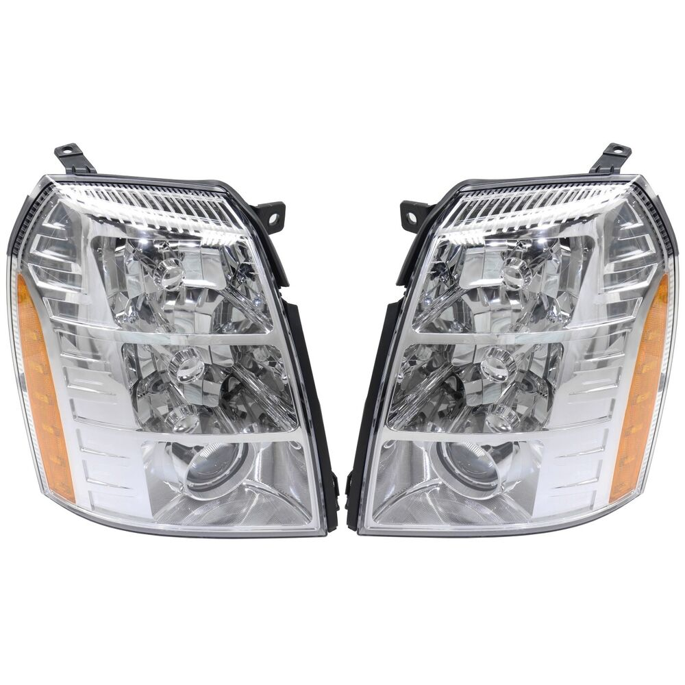 HID Headlight Set For 2007-2009 Cadillac Escalade Left