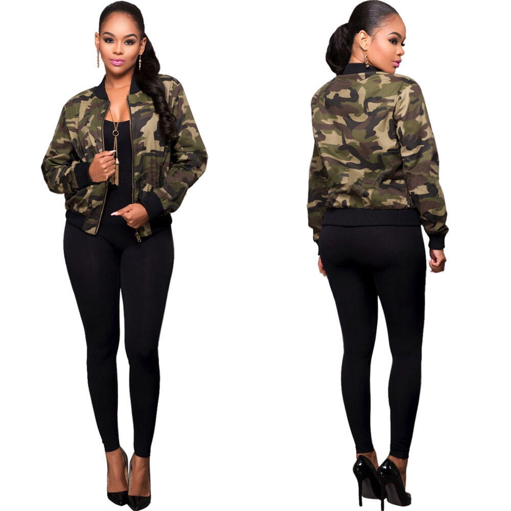 Aliexpress.com : Buy 2018 Autumn Long Army Camouflage ...  |Camo Jackets For Women