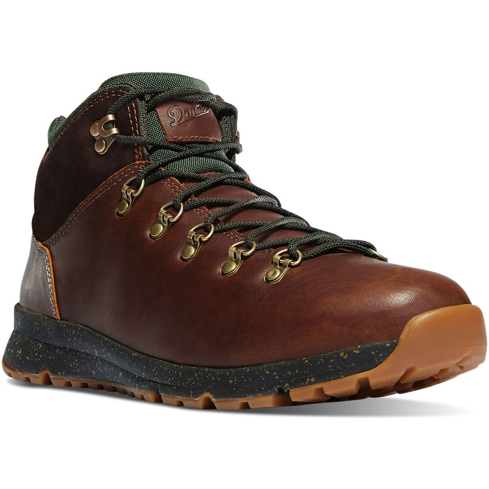 Danner 35610 Mountain 503 Barley Leather Brown Green