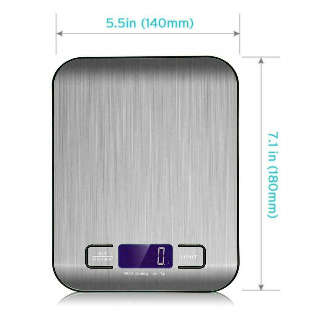 11lb 5kg 1g digital electronic kitchen food diet postal for 0 1g kitchen scales