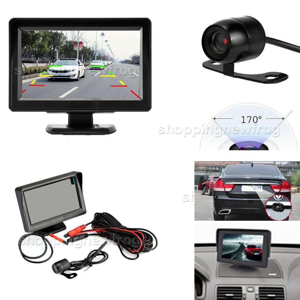 4 3 tft lcd car rear view mirror monitor night vision. Black Bedroom Furniture Sets. Home Design Ideas