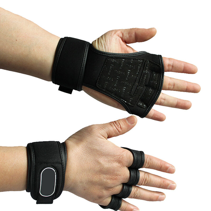 Weight Lifting Gym Gloves Training Fitness Wrist Wrap: 1 Pair Fitness Gloves Weight Lifting Gym Workout Training