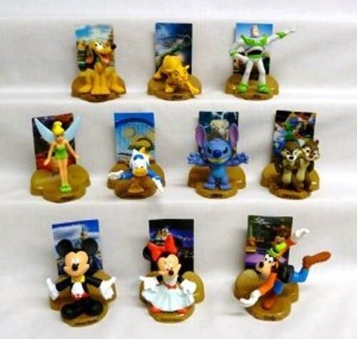 Happy Meal Toys : Mcdonald s happy meal toy complete set of disney the