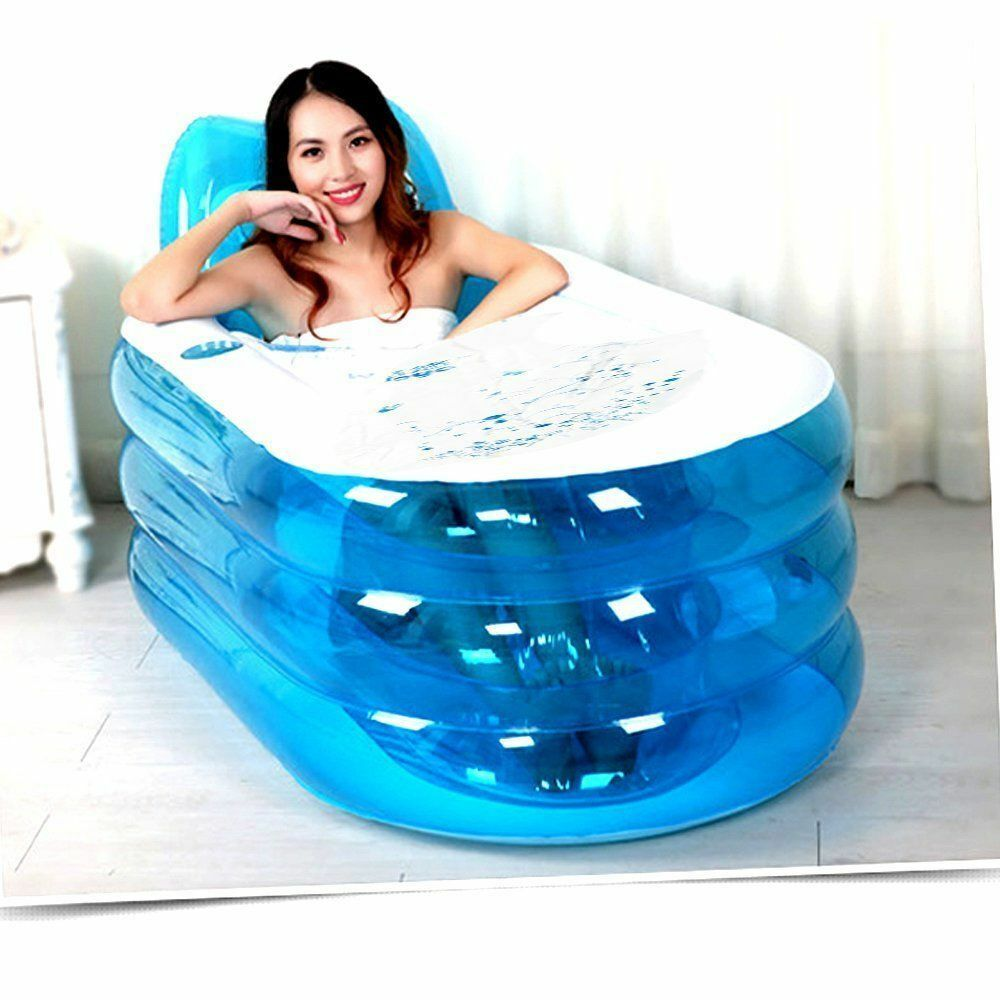 Adult Portable Warm Bathtub Inflatable Bath Tub Electric