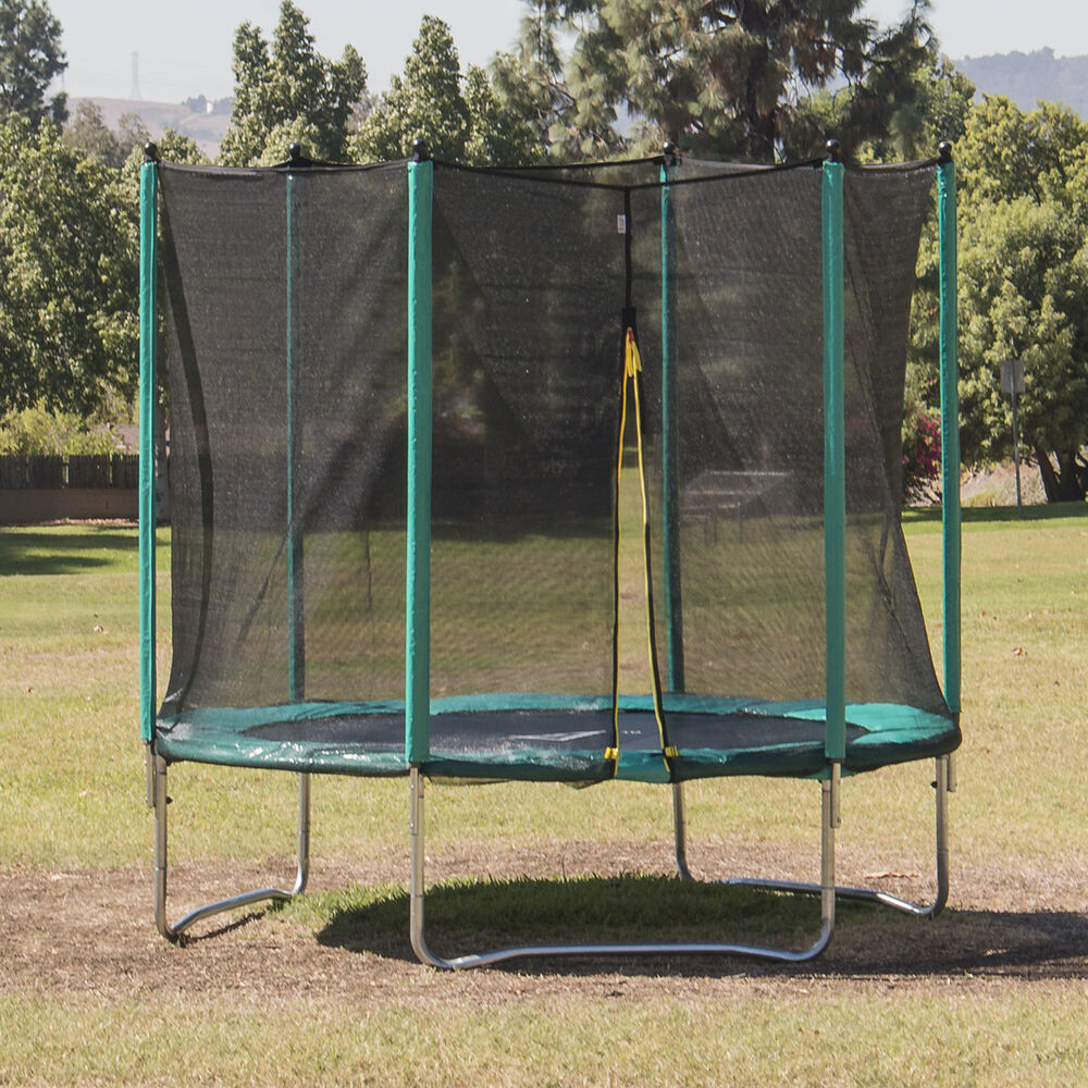 New 14ft Trampoline Combo Bounce Jump Safety Enclosure Net: 15FT Trampoline Combo Bounce Jump + Safety Enclosure Net