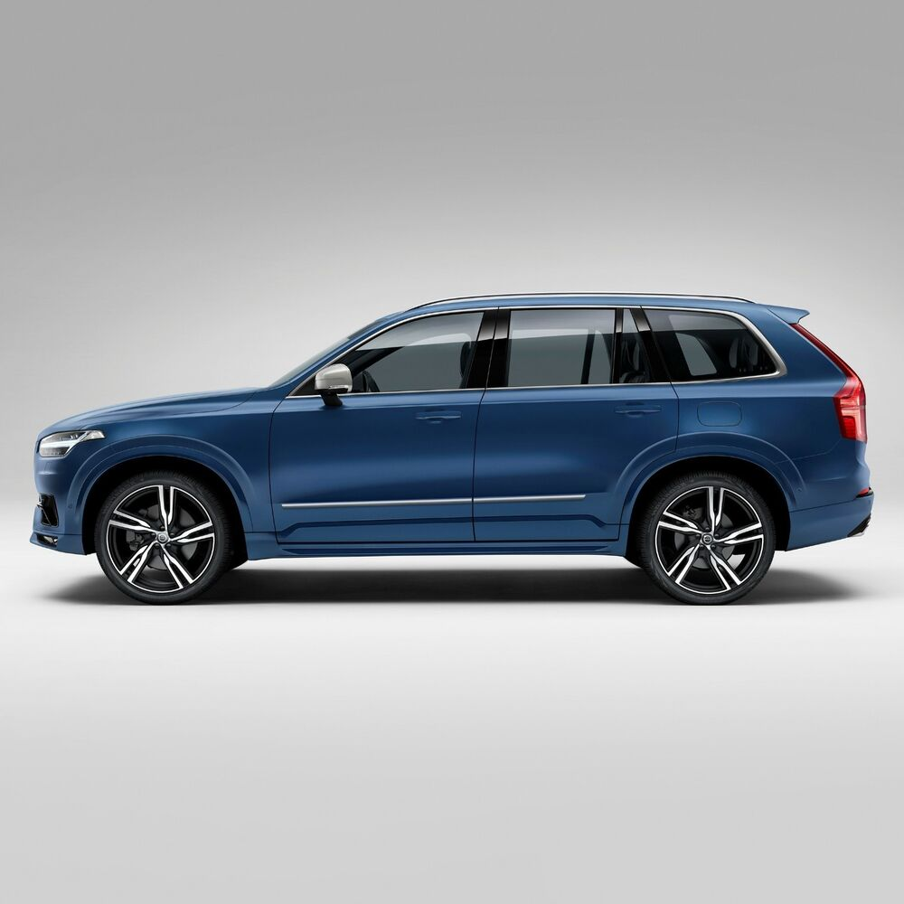 For: VOLVO XC90; BODY SIDE Moldings Mouldings CHROME Trim