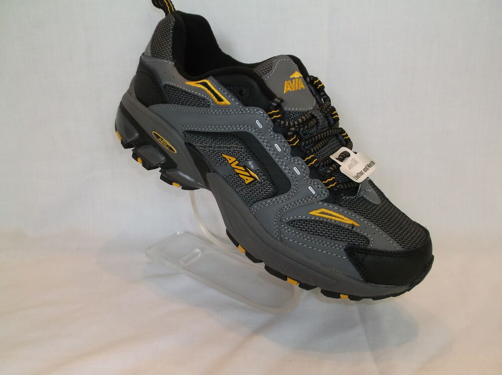 AVIA (JAG) LEATHER AND MESH MENS HIKING SHOE NEW IN BOX | eBay
