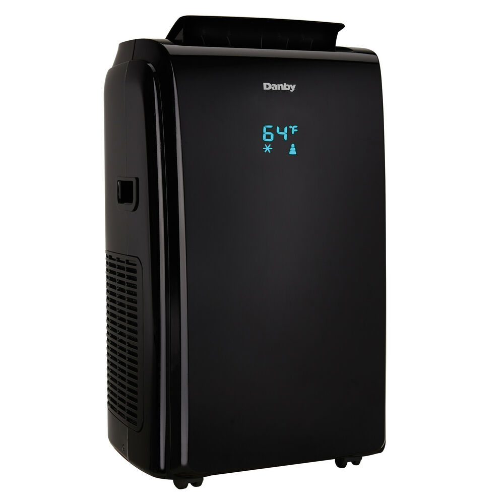 danby 12000 btu 3 in 1 portable air conditioner and dehumidifier remote black ebay. Black Bedroom Furniture Sets. Home Design Ideas