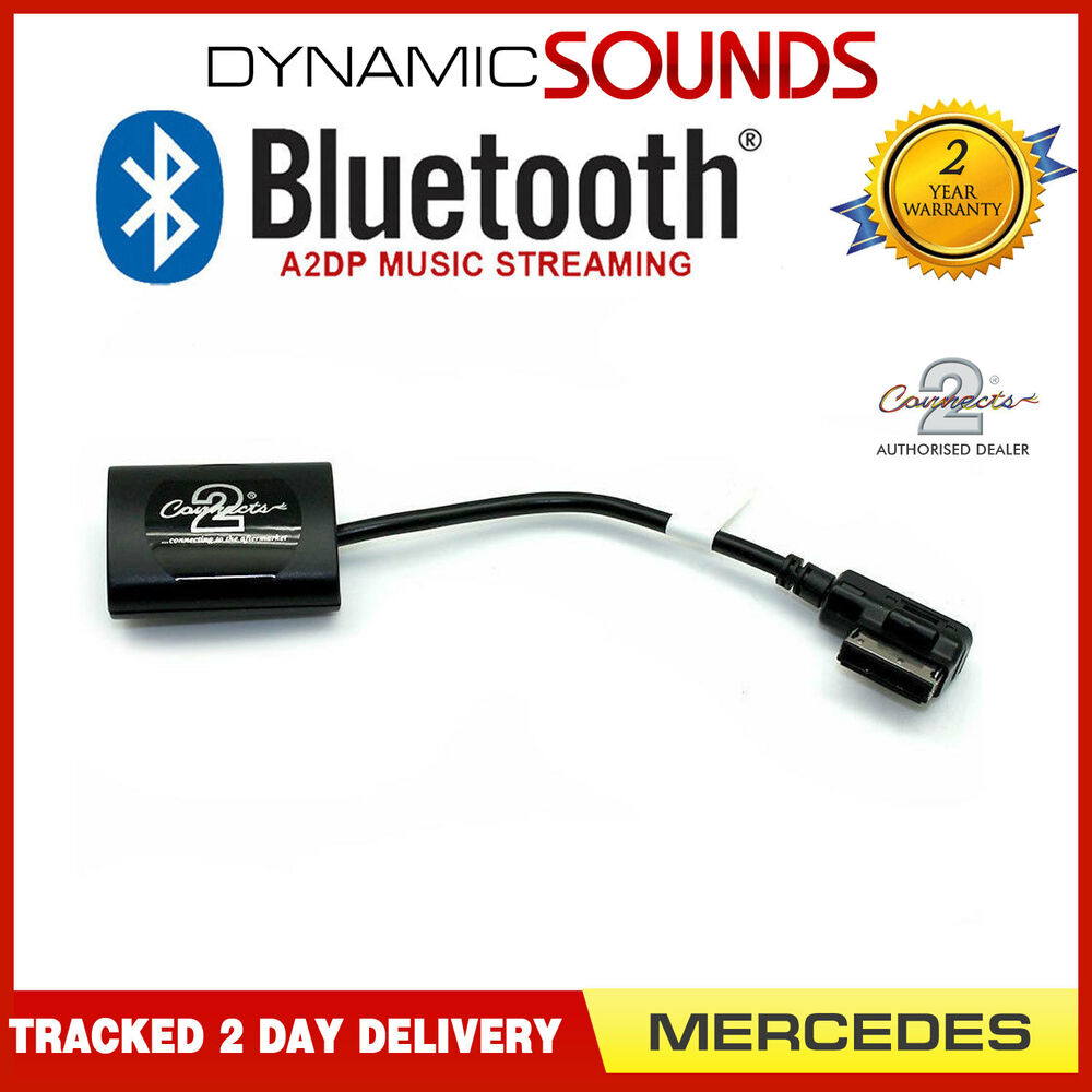 Bluetooth A2dp Adapter For Mercedes Benz: CTAMC1A2DP Mercedes E-Class A2DP Bluetooth Streaming