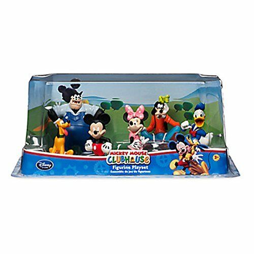 a821812c22e Details about Mickey Mouse Clubhouse Figurine Playset 6 Piece Set Toy High  Quality New