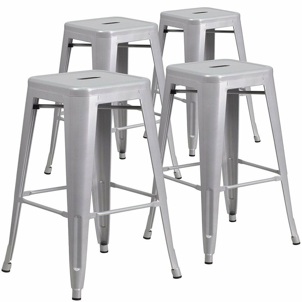 Set of 4 Metal Steel Bar Stools Vintage Antique Style  : s l1000 from www.ebay.com size 1000 x 1000 jpeg 112kB