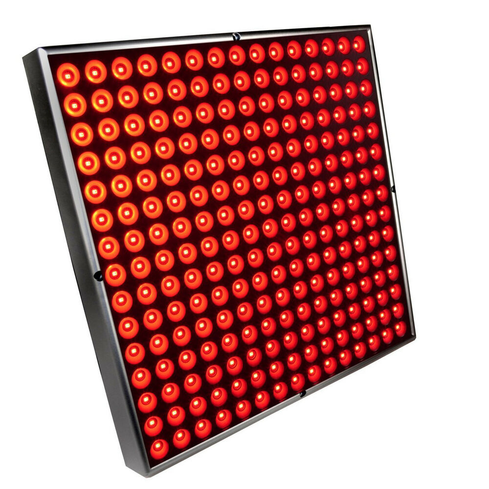 Hqrp 45w Square Red 225 Led Grow Light Panel Lamp 12 Quot X