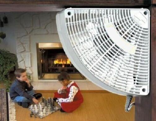 Doorway Circulating Fans : Fan doorway air circulator corn pellet insert stove ebay
