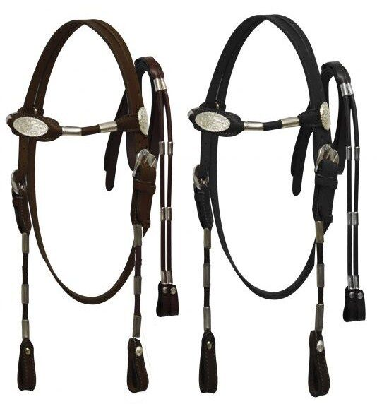 Western Large Pony Cobb Horse Size Bridle Headstall W