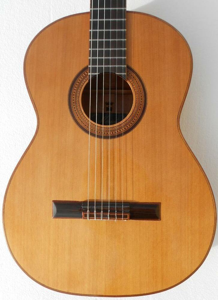 new merida trajan t25 classical acoustic guitar ebay. Black Bedroom Furniture Sets. Home Design Ideas