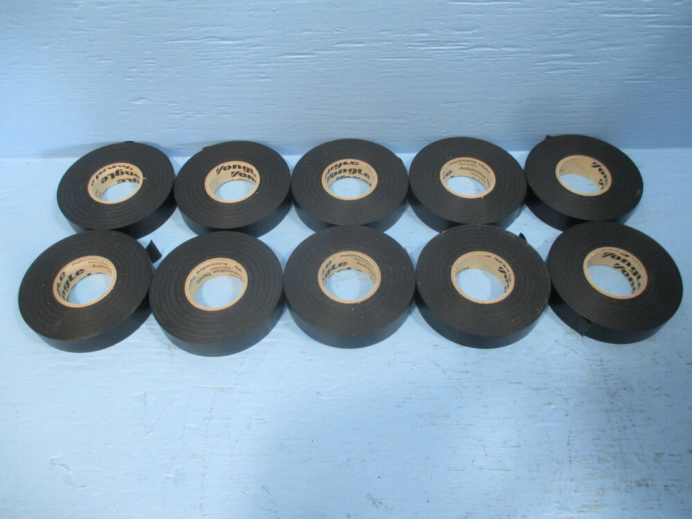 Lot Of 10 Plymouth Yongle Electrical Tape M2147021 Black