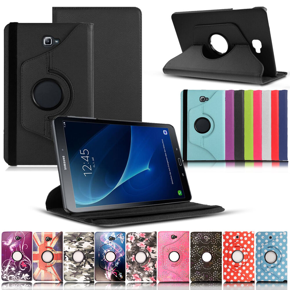 smart flip leather stand case cover for samsung galaxy tab a6 7 9 7 10 1 e ebay. Black Bedroom Furniture Sets. Home Design Ideas