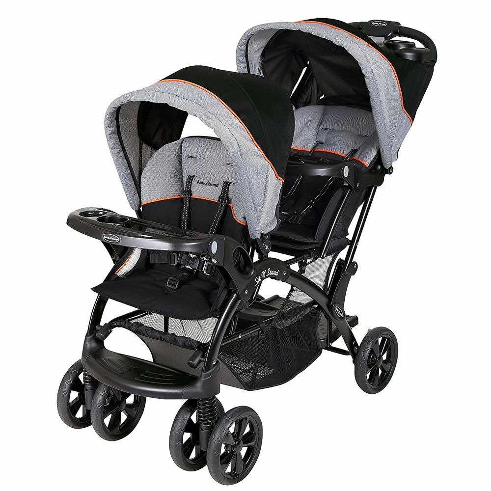 Baby Trend Double Sit N Stand Toddler And Baby Stroller