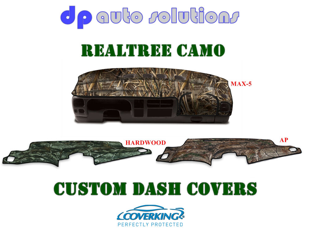 Coverking Realtree Camo Velour Custom Dash Cover For Dodge