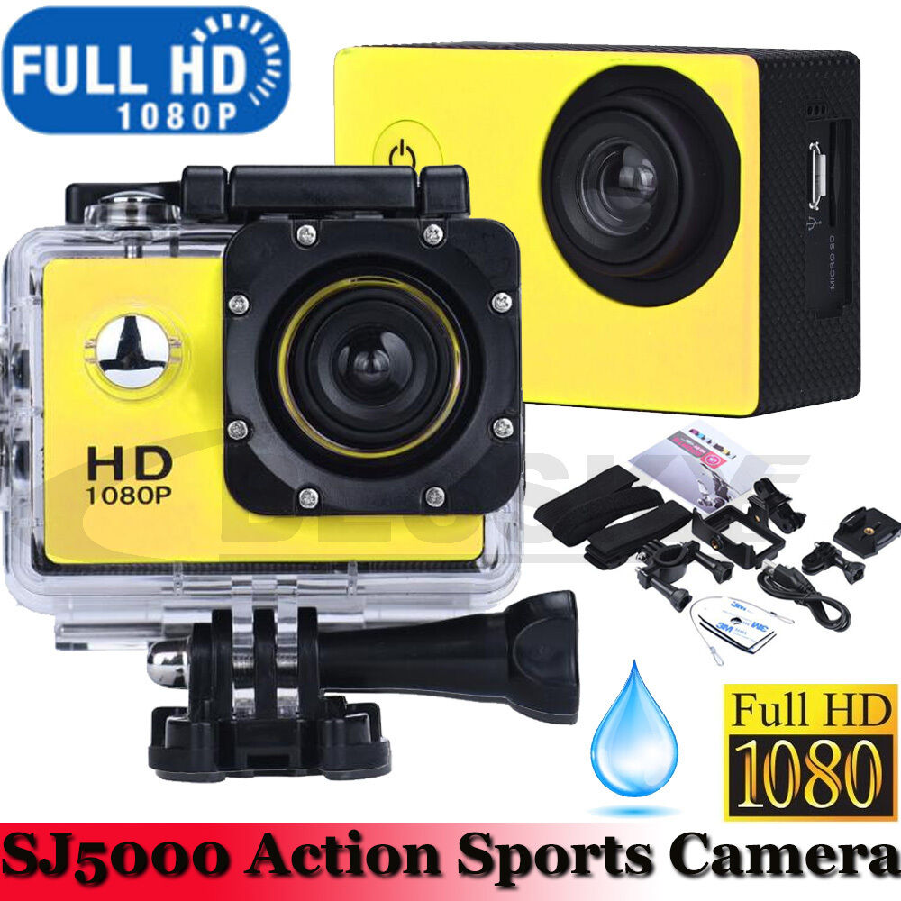 waterproof mini sports camcorder 1080p utral hd video. Black Bedroom Furniture Sets. Home Design Ideas