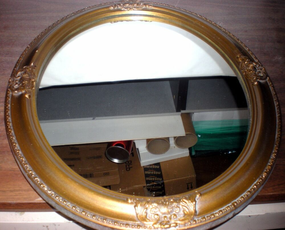 Carolina Mirror Company Vintage Oval Wall Mirror 18 Quot X 14