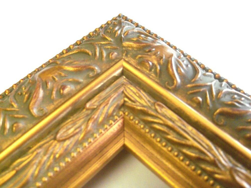 """2.5"""" Large Wide Grecian Gold Canvas Picture Frame-Custom ..."""