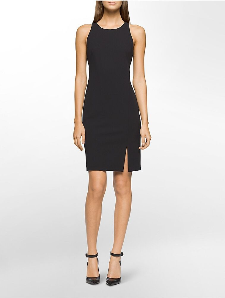 calvin klein womens halter sheath dress | eBay