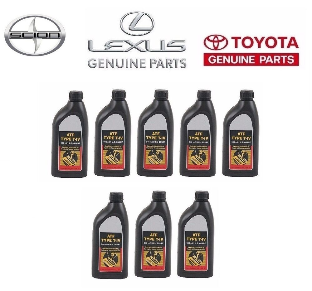 2002 toyota sienna transmission fluid type
