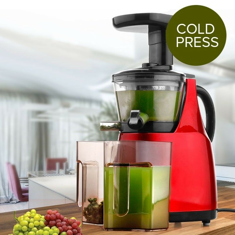 Brand New Cold Press Slow Juicer Fruit vegetable Processor ...