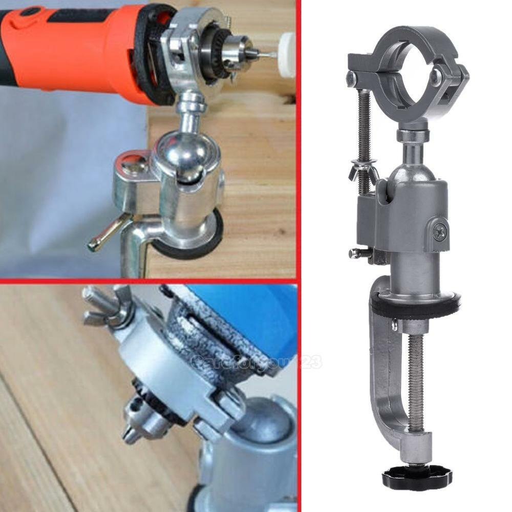 Clamp On Grinder Holder Bench Vise For Electric Drill