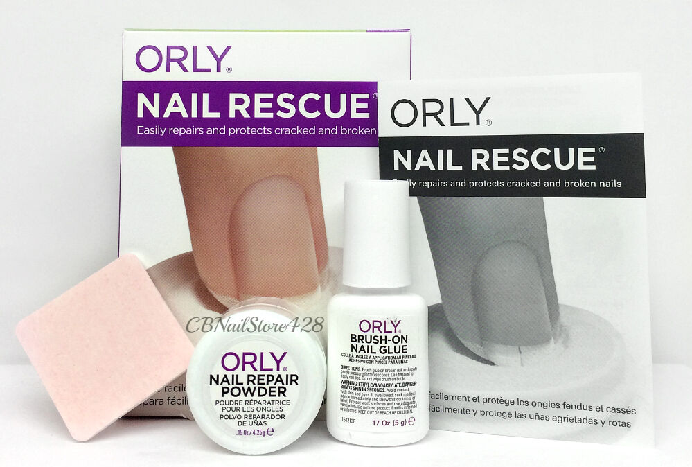 Orly Treatment - NAIL RESCUE KIT (Repair & Protect Cracked & Broken ...