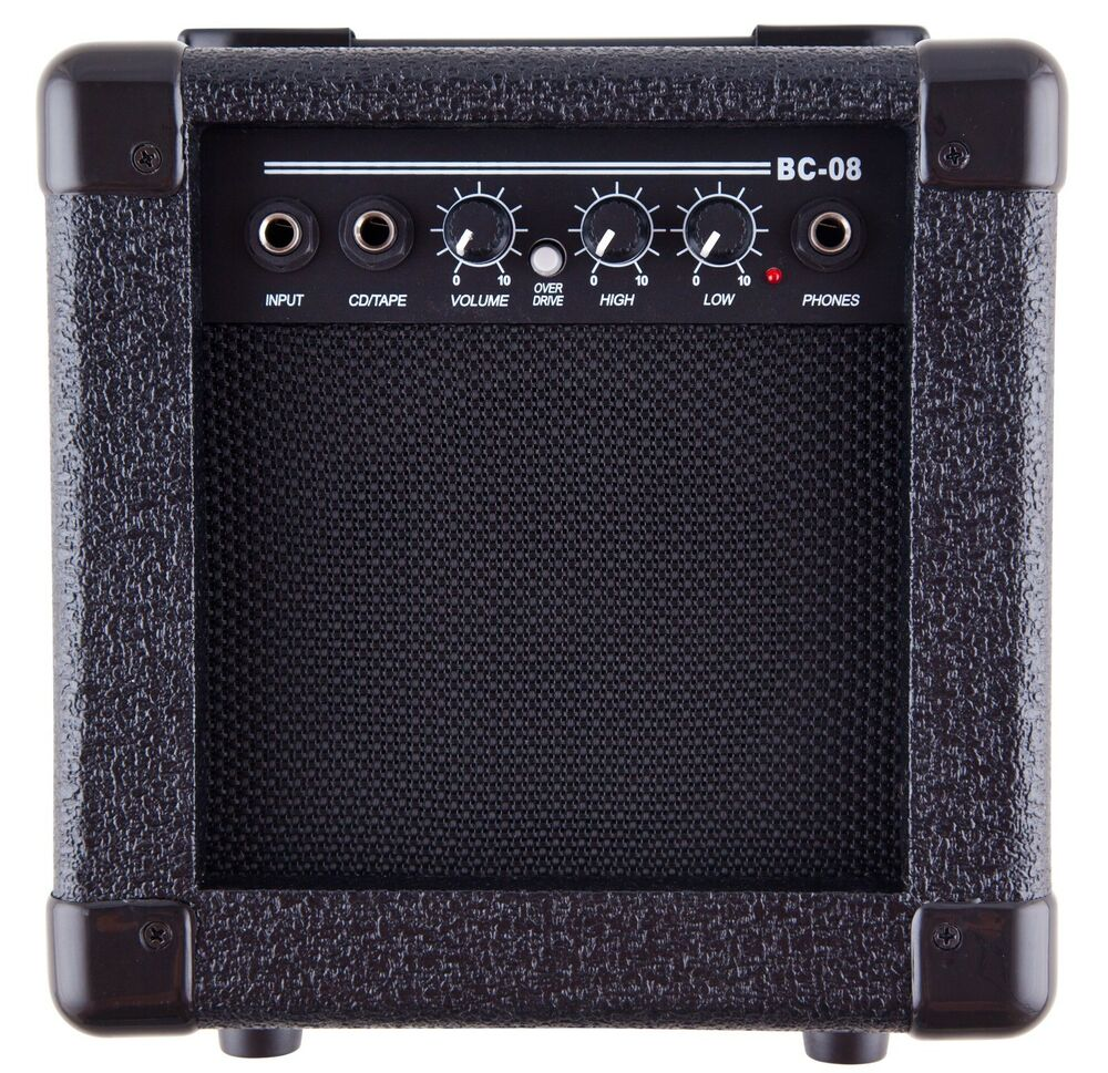 guitar practice amp with overdrive headphone output demo used amplifier ebay. Black Bedroom Furniture Sets. Home Design Ideas