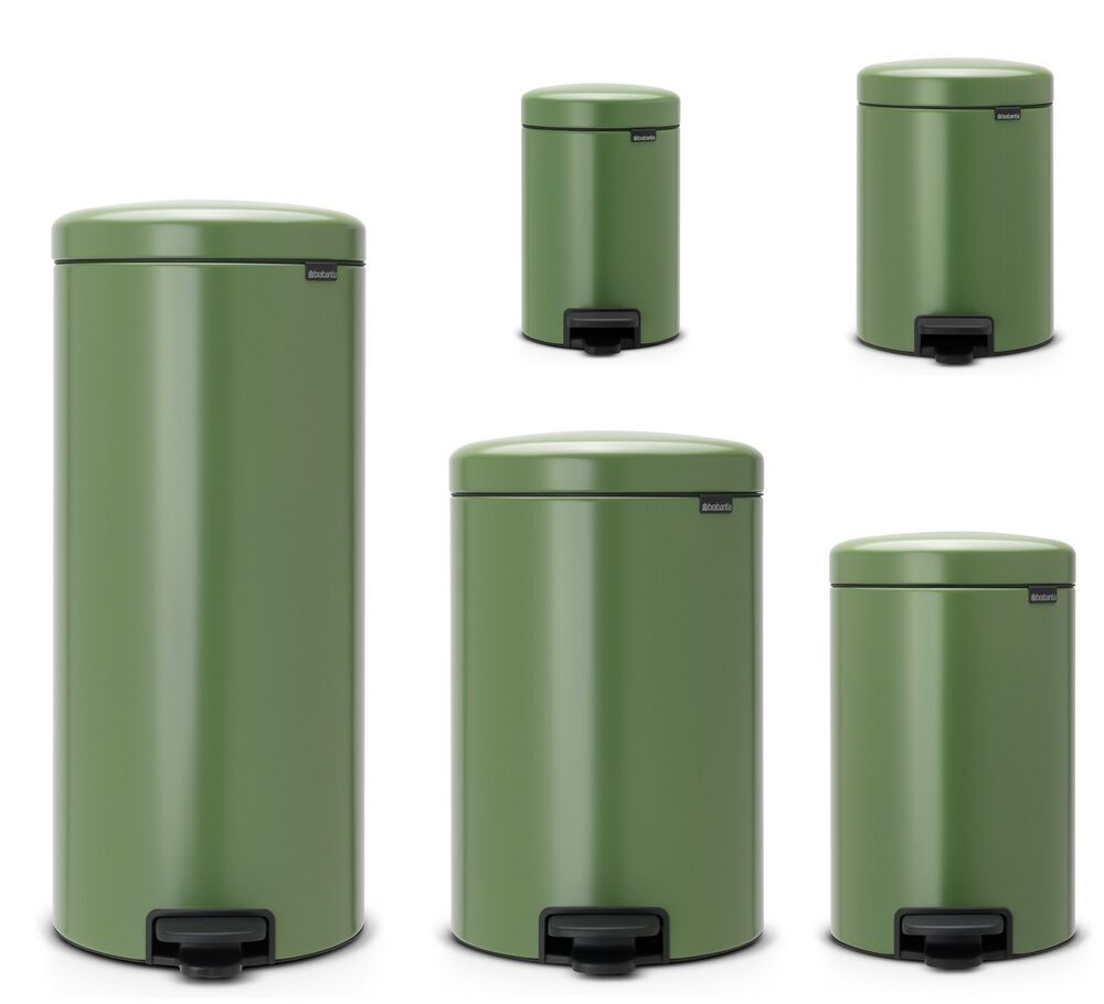 brabantia newicon treteimer m lleimer 3 30 liter in moss. Black Bedroom Furniture Sets. Home Design Ideas