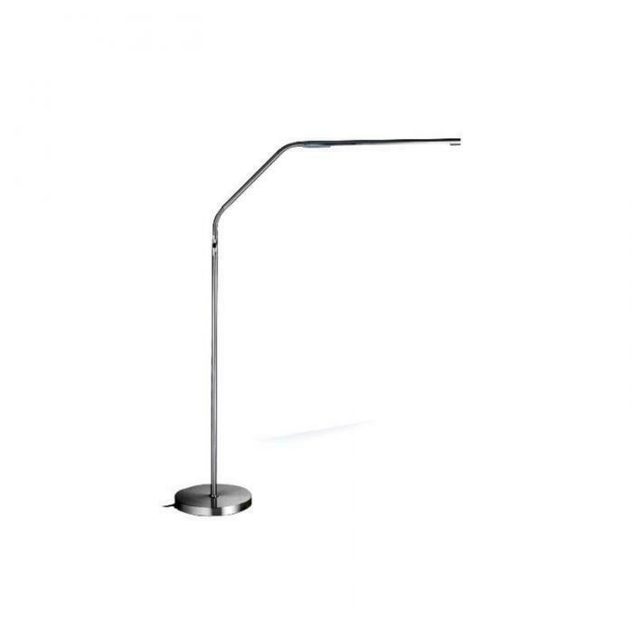 daylight slimline led stehlampe 80 tageslicht leds 16110 ebay. Black Bedroom Furniture Sets. Home Design Ideas