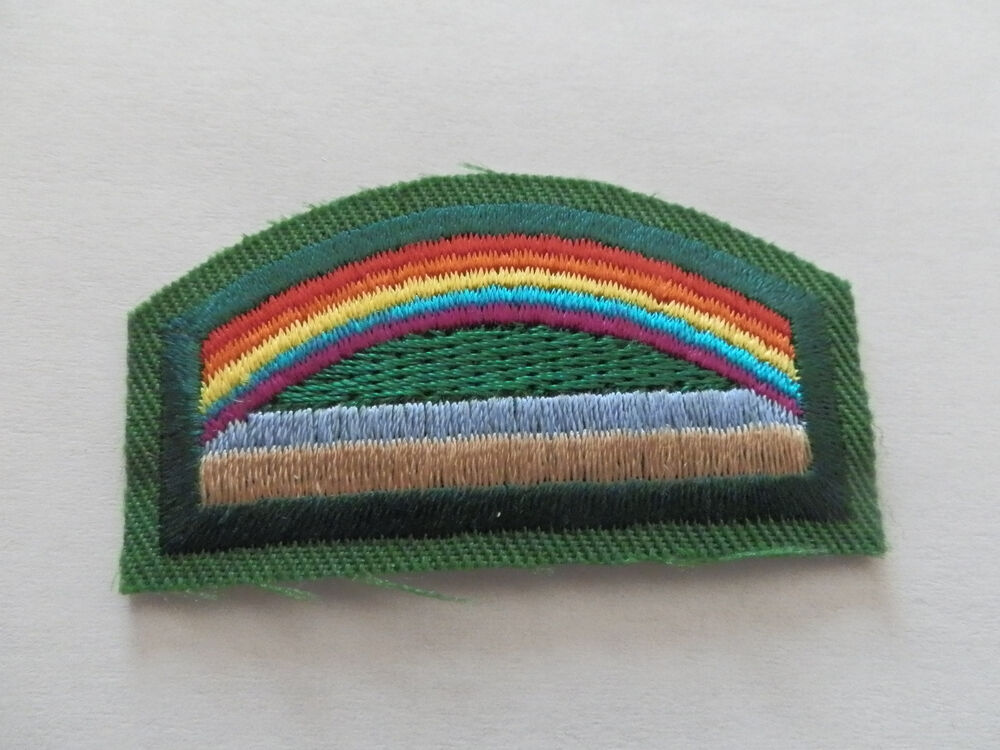 girl scouts daisy badge patch bridge to brownie girl