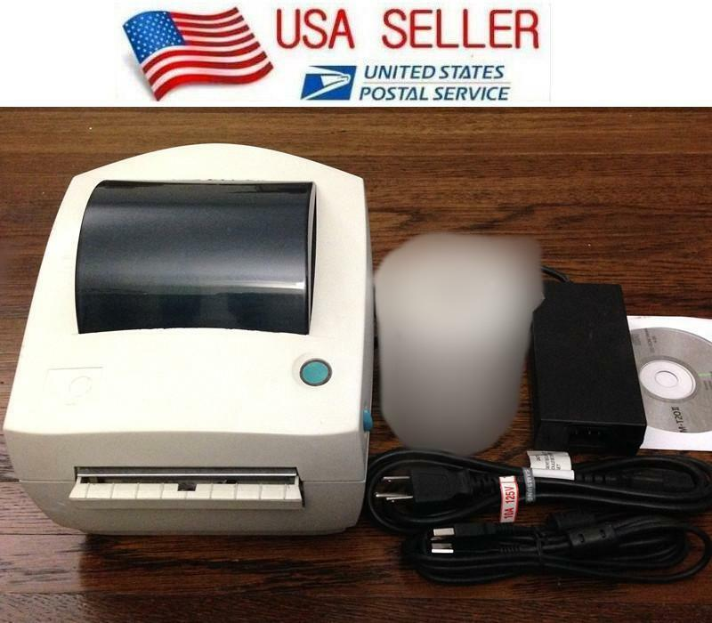 Zebra Lp 2844 Direct Thermal Label Tag Printer Lp2844 Usb