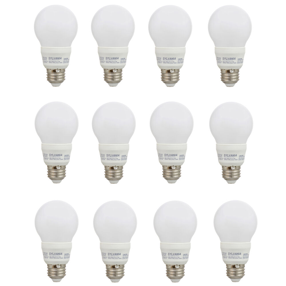 Elegant Lighting 40w Equivalent Soft White E26 Dimmable: Sylvania A19 40W 120V E26 Non-Dimmable White Frosted LED