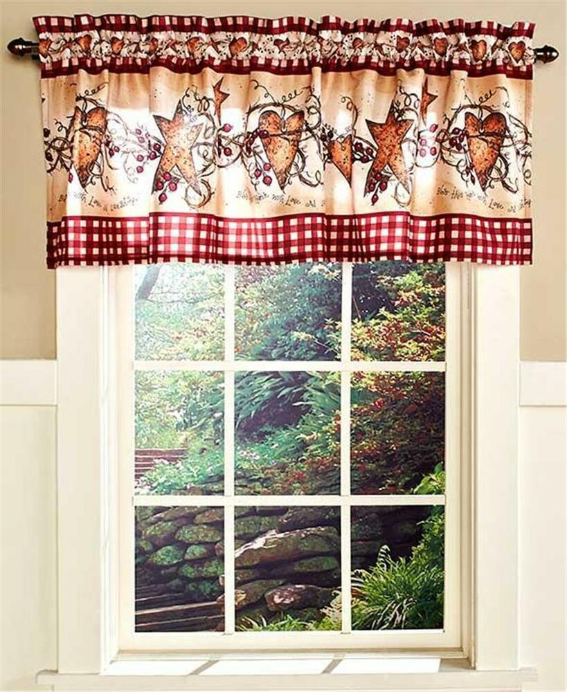 country star kitchen curtains spivey country charm hearts an bathroom window 6202