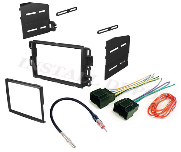 Wiring Harness Kit For Radio : Car stereo double din radio dash installation bezel trim