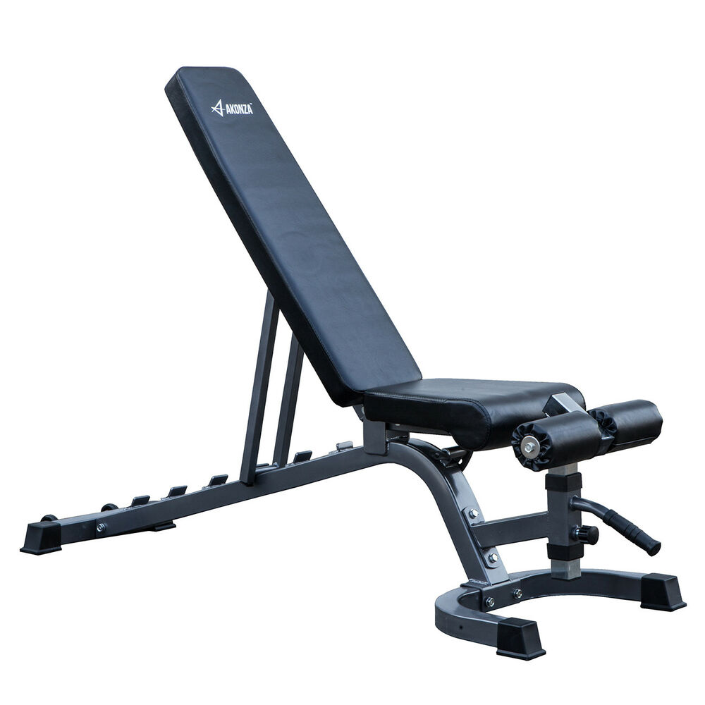New adjustable 7 position weight bench incline decline home gym exercise fitness 846183163336 ebay - Weight bench incline decline ...