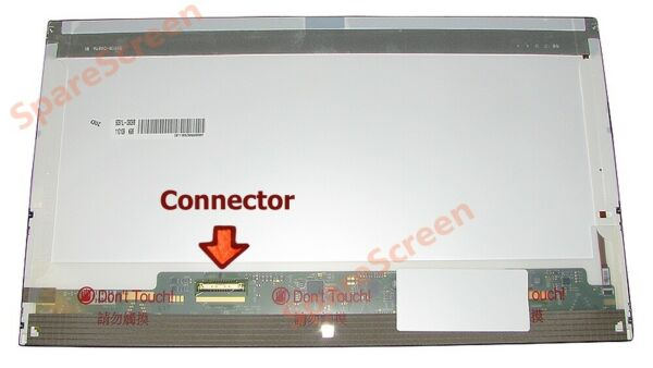 Toshiba Satellite C850d-11p LCD Display Schermo Screen 15.6